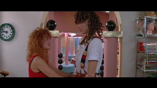 1980 s movie heroines earth girls are easy agent lover for A davis brown salon